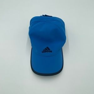 Adizero light blue baseball cap